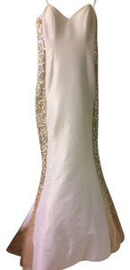 Jovani Rhinestone Pearls Sweetheart Dress