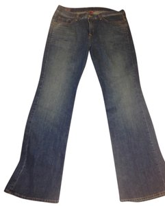 Lucky Brand New Denim Size 12 Flare Leg Jeans-Distressed