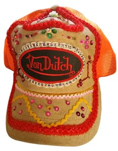 Von Dutch Von Dutch Blingy Hat Multi Color New No Tag