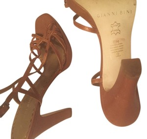 Gianni Bini Cognac Sandals
