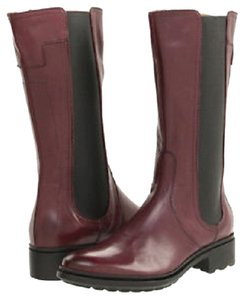 Hunter Darby Leather Very Berry / Plum Boots