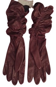 Saks Fifth Avenue Saks Leather Gloves