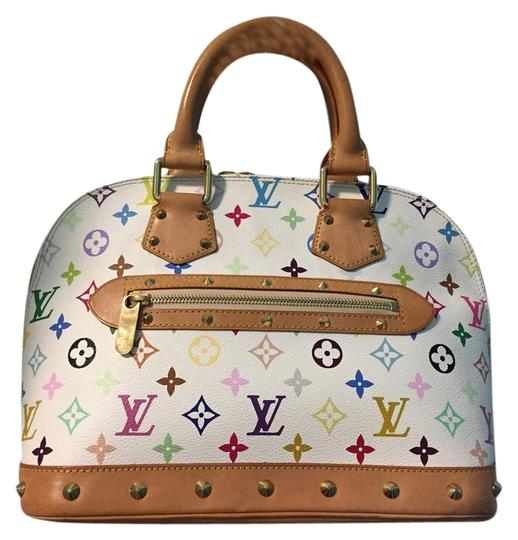 Preload https://item4.tradesy.com/images/louis-vuitton-alma-multicolor-white-murakami-alma-satchel-10334878-0-1.jpg?width=440&height=440