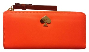 Kate Spade Kate Spade Cobblestone Park Nisha Leather Clutch Wallet