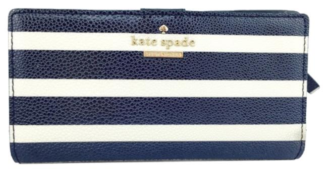 Item - Navy/Ivory Striped Stacy New with Tags Wallet