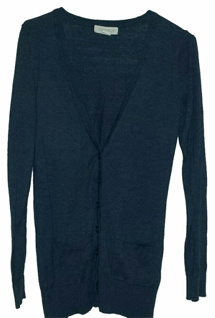 Preload https://item1.tradesy.com/images/forever-21-navy-blue-cardigan-size-4-s-10335685-0-1.jpg?width=400&height=650