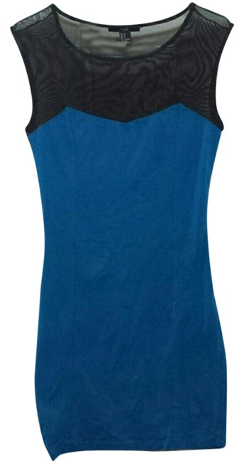 Preload https://item3.tradesy.com/images/forever-21-blue-body-con-mini-short-casual-dress-size-4-s-10335817-0-1.jpg?width=400&height=650
