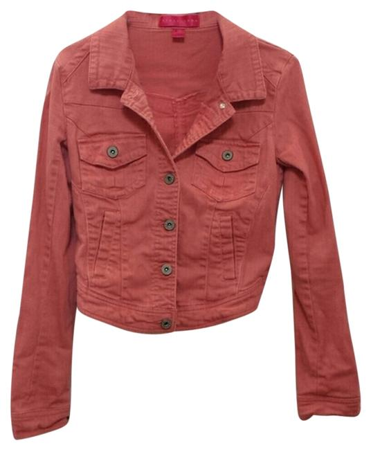 Preload https://item2.tradesy.com/images/peach-denim-jacket-size-4-s-10335841-0-1.jpg?width=400&height=650