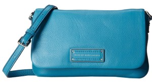 Marc by Marc Jacobs Too Hot To Handle Percy Embossed Logo Textured Leather Cross Body Bag