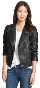 7 For All Mankind 7fam Biker Moto Leather Jacket