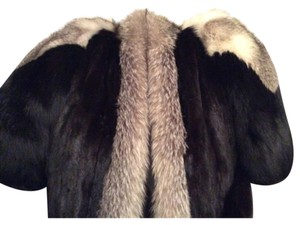 Sasha Fabiani Fur Coat