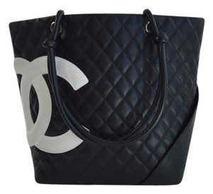 Chanel Cambon Ligne Tote in Black