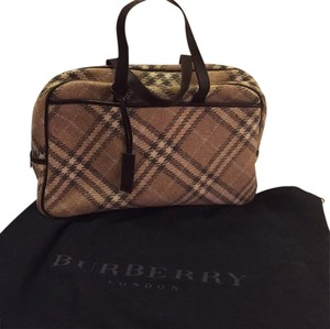 Burberry London Satchel in Plaid