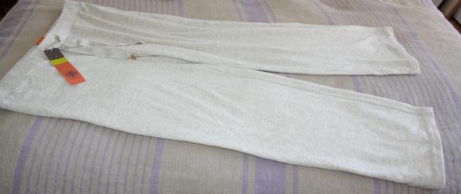 Tory Burch Track Workout Lounge Athletic Pants Beige