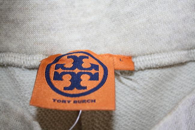 Tory Burch Track Workout Leggings Yoga Athletic Pants Beige