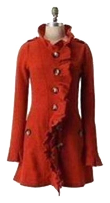 Preload https://item4.tradesy.com/images/anthropologie-burnt-orange-gumshoe-sweatercoat-xs-by-charlie-and-robin-size-2-xs-10337878-0-1.jpg?width=400&height=650