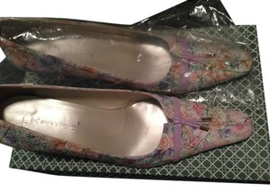 J. Renee Sophisticated Chic Classic Lavender / Multi-Color Flats