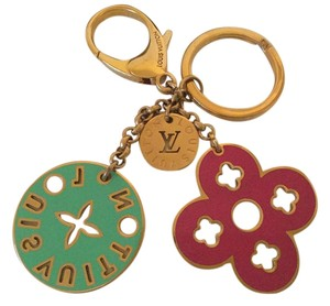 Louis Vuitton FINAL SALE!!! Louis Vuitton Charms Key Ring Holder