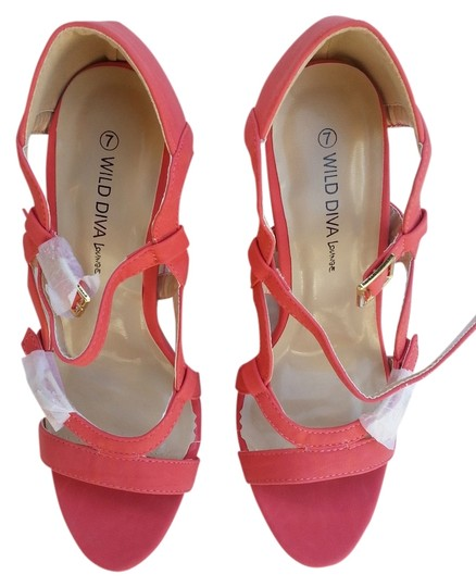 Preload https://item1.tradesy.com/images/wild-diva-coral-wedges-1033820-0-0.jpg?width=440&height=440
