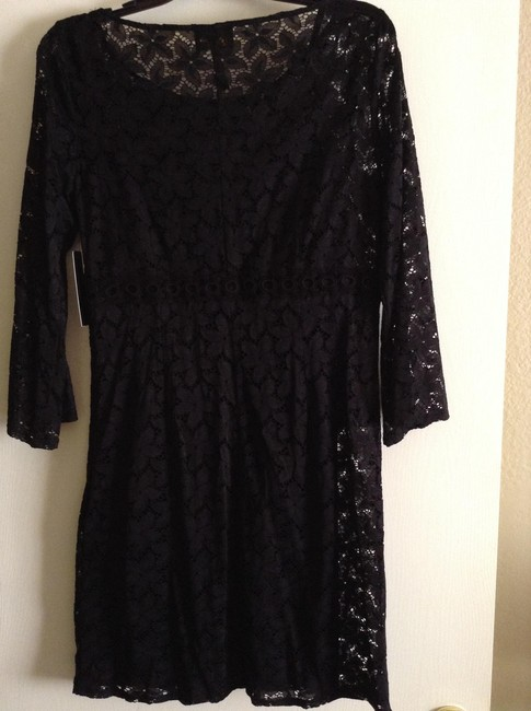 """Laundry by Shelli Segal 3/4 Sleeves Length: 34.5"""" Width Across Chest: 17"""" Material: 88% Nylon And 12% Spandex Lining: Slip- Polyester New And Dress"""