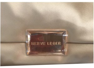 Hervé Leger Peach/pink Clutch