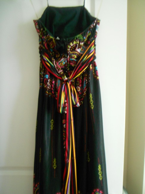 MULTI FLORAL Maxi Dress by Rubber Ducky Productions, Inc. Size Large Size Medium