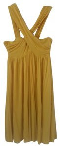 Generra short dress yellow on Tradesy