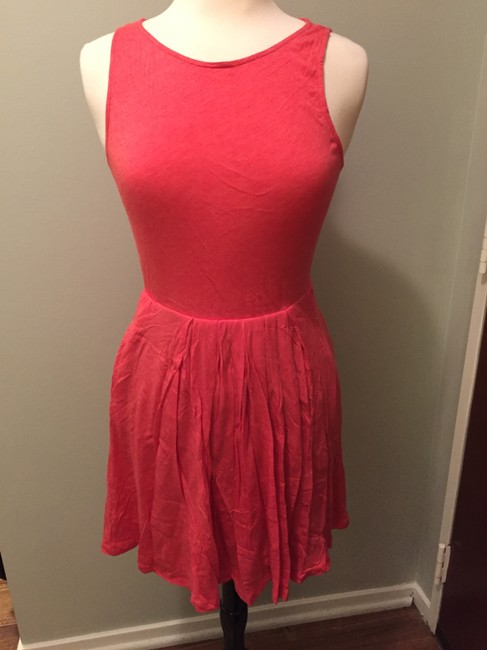 Splendid short dress Hot coral on Tradesy