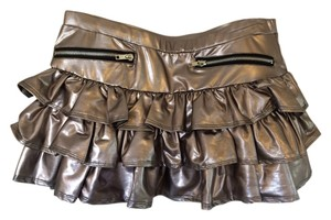 Sweet Love Mini Skirt Silver