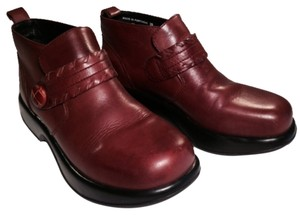 Dansko Brownish-Red Boots