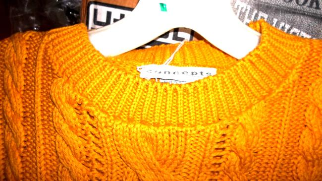 Career Guild Cable Knit Dressy Cotton Knit Concepts Size L Sweater