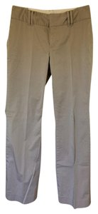 Banana Republic Straight Pants Light Gray
