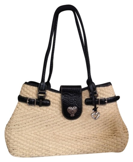 Preload https://img-static.tradesy.com/item/10350100/brighton-and-black-cream-leather-straw-shoulder-bag-0-1-540-540.jpg