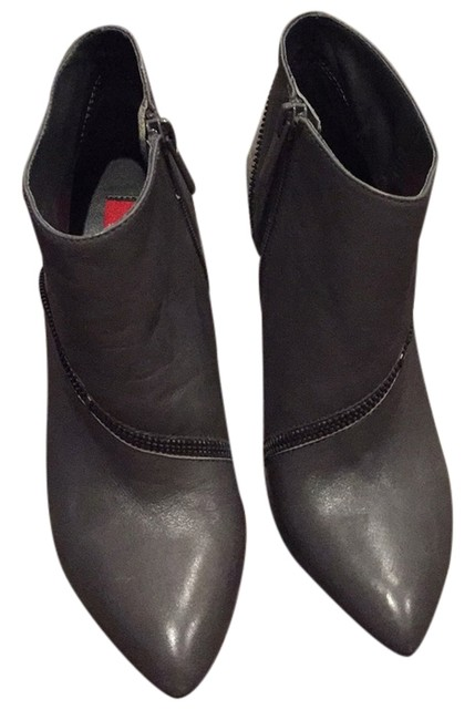 Saks Fifth Avenue Grey None Boots/Booties Size US 6 Regular (M, B) Saks Fifth Avenue Grey None Boots/Booties Size US 6 Regular (M, B) Image 1