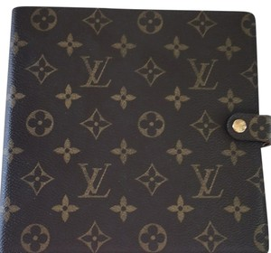 Louis Vuitton scrapbook/diary with 1 refill included