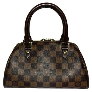 Louis Vuitton Mini Rivela Satchel in Damier Ebene