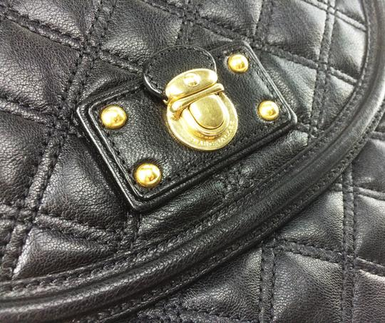 Marc Jacobs Cooper Quilted Leather Lambskin Cross Body Bag