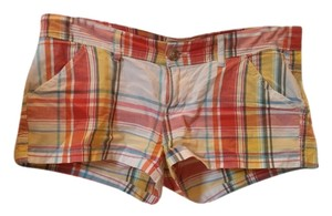 Hollister Short Mini/Short Shorts Plaid