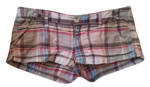Hollister Mini/Short Shorts Plaid