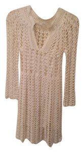 Catherine Malandrino short dress White Macrame on Tradesy