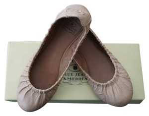 Lucky Brand Nude Ballet Comfortable Rose Cream Flats
