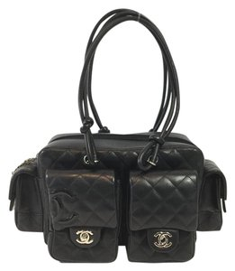 Chanel Cambon Leather Shoulder Bag
