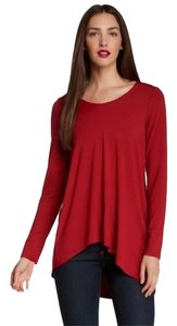 Eileen Fisher Viscose Tunic Asymmetric Sweater