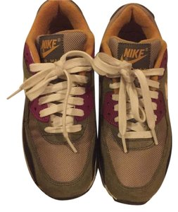 Nike Olive green, black, purple, white Athletic