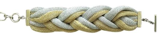 Preload https://item3.tradesy.com/images/two-tone-sterling-silver-mesh-toggle-bracelet-1035197-0-0.jpg?width=440&height=440