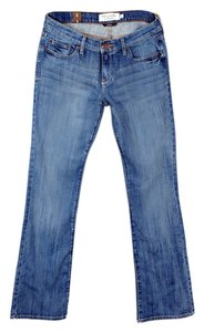 Abercrombie & Fitch Emma Boot Cut Jeans-Medium Wash