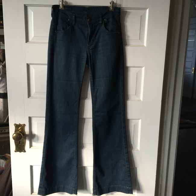 Citizens of Humanity Flared Hutton Stretch High Rise Boot Cut Trouser/Wide Leg Jeans