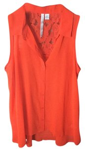 LC Lauren Conrad Top Orange