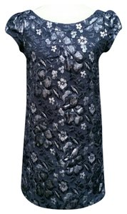 Necessary Objects Silver Metallic Comfortable Dress