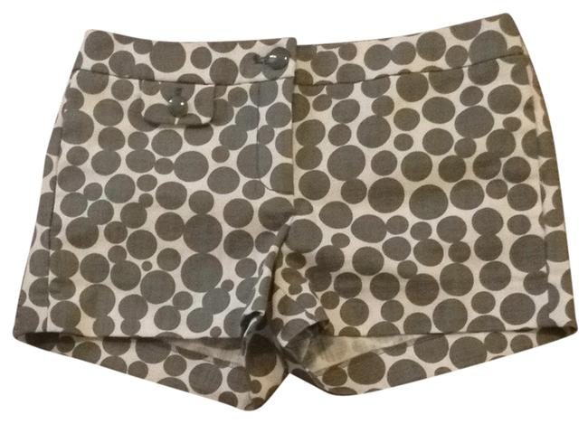 J. Crew Shorts Beige With grey Dots